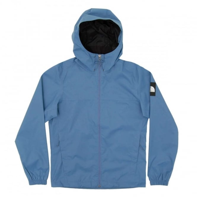 the north face mountain quest jacket moonlight blue mens