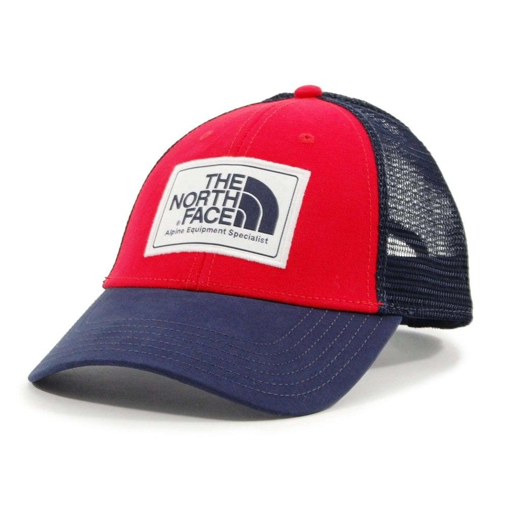 467dfccb5 The North Face Mudder Trucker Hat TNF Red Urban Navy