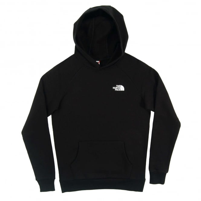 The North Face Raglan Red Box Hoodie TNF Black