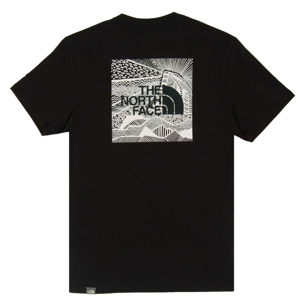 958fdb802 The North Face Red Box Celebration T-Shirt TNF Black