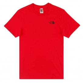 Red Box Celebration T-Shirt TNF Red