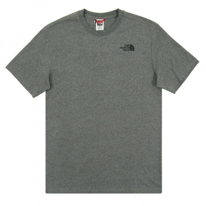 The North Face Red Box T-Shirt Med Grey Heather