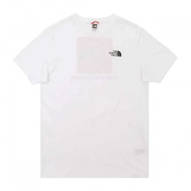 The North Face Red Box T-Shirt TNF White - Mens Clothing from Attic ... 0fef254df