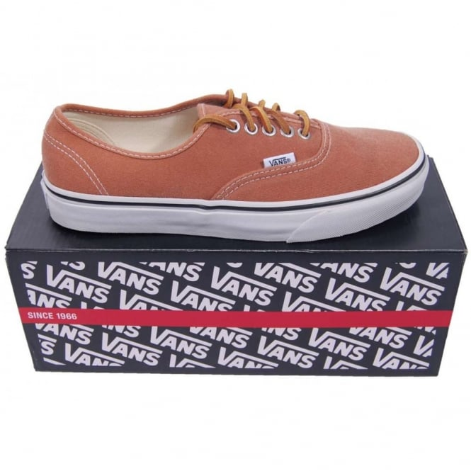 69caea0aa59624 Vans Authentic Brushed Twill Brown - Mens Clothing from Attic ...