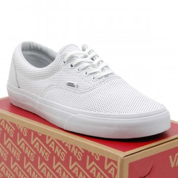 84608d75c9 Vans Era Perf Leather True White - Mens Clothing from Attic Clothing UK