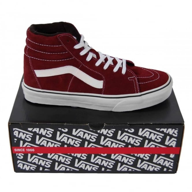 Vans Sk8-Hi Suede Port Royale - Mens Clothing from Attic Clothing UK 3db89cc5f