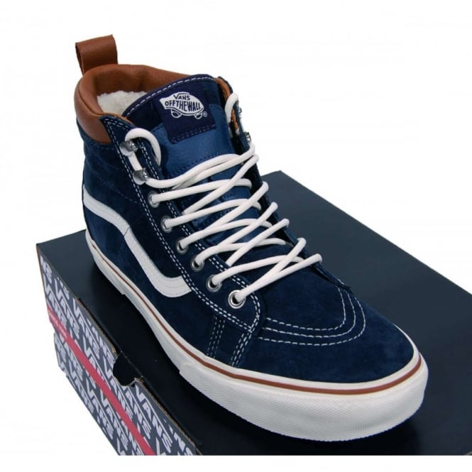 5da642336229b4 Vans Skate Hi MTE Dress Blue - Mens Clothing from Attic Clothing UK